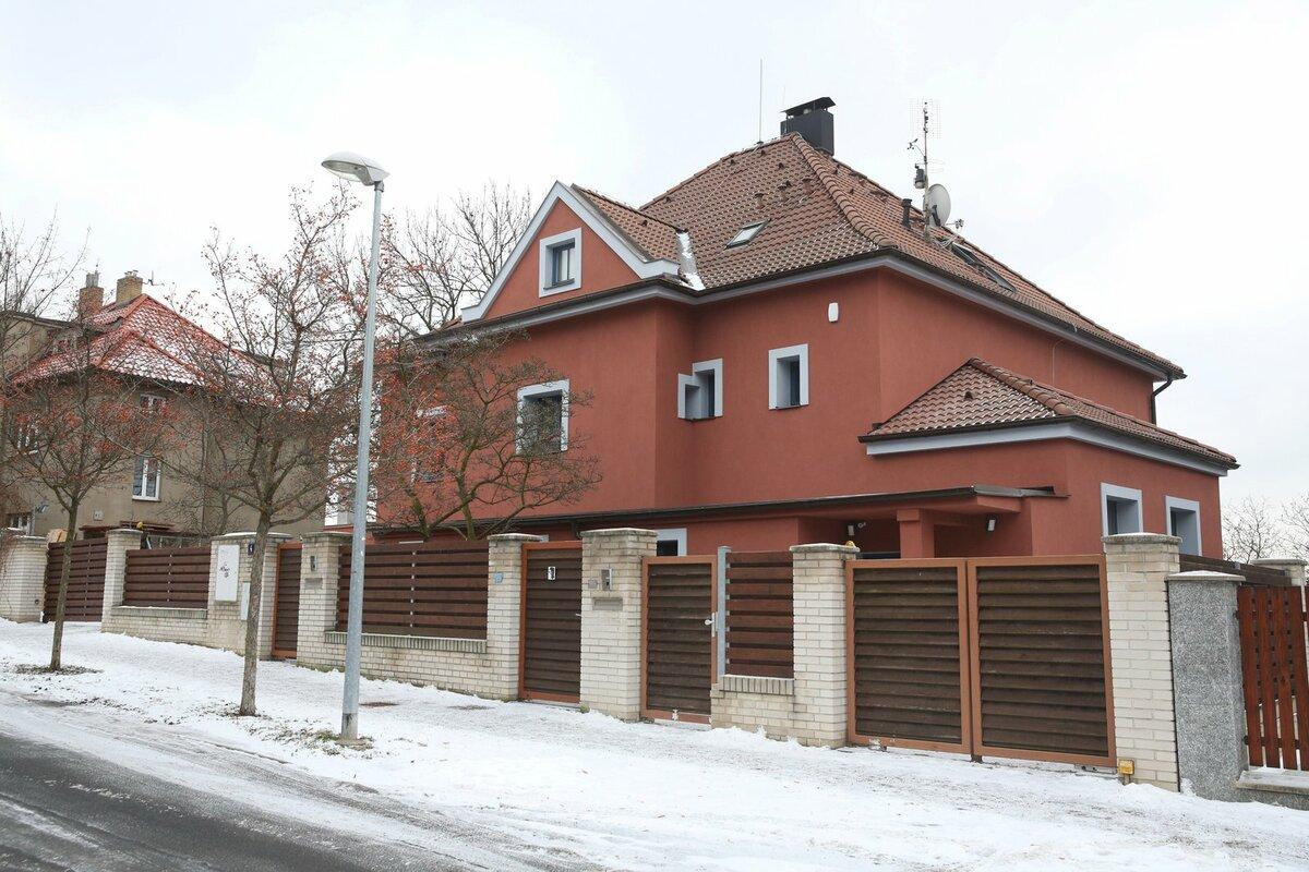 Vila je nyní sídlem firmy Jana Bubeníka.