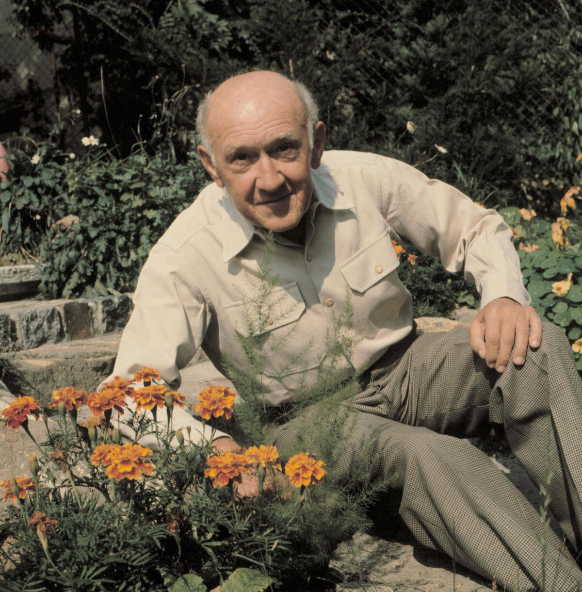 František Filipovský zahradu miloval.
