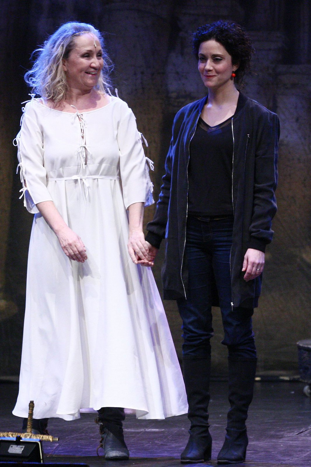 Bára s Lucií Šoralovou