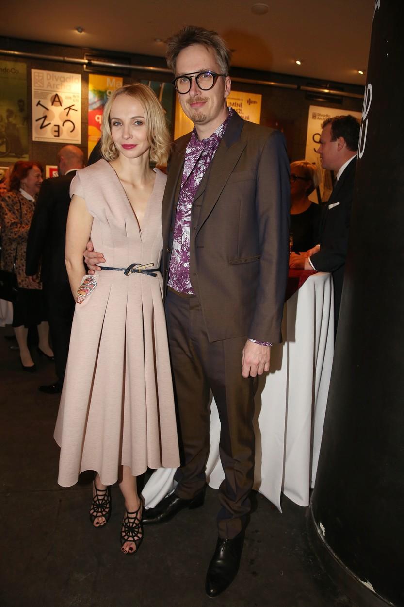 Jana Plodková se svým manželem