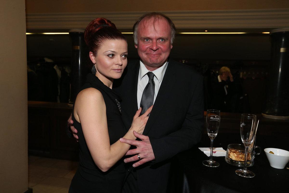 S manželkou Antonií Talackovou, která je jeho jedinou oporou.