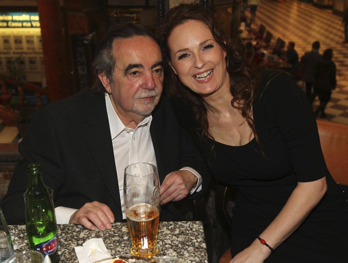 Dušan Klein a Markéta Hrubešová.