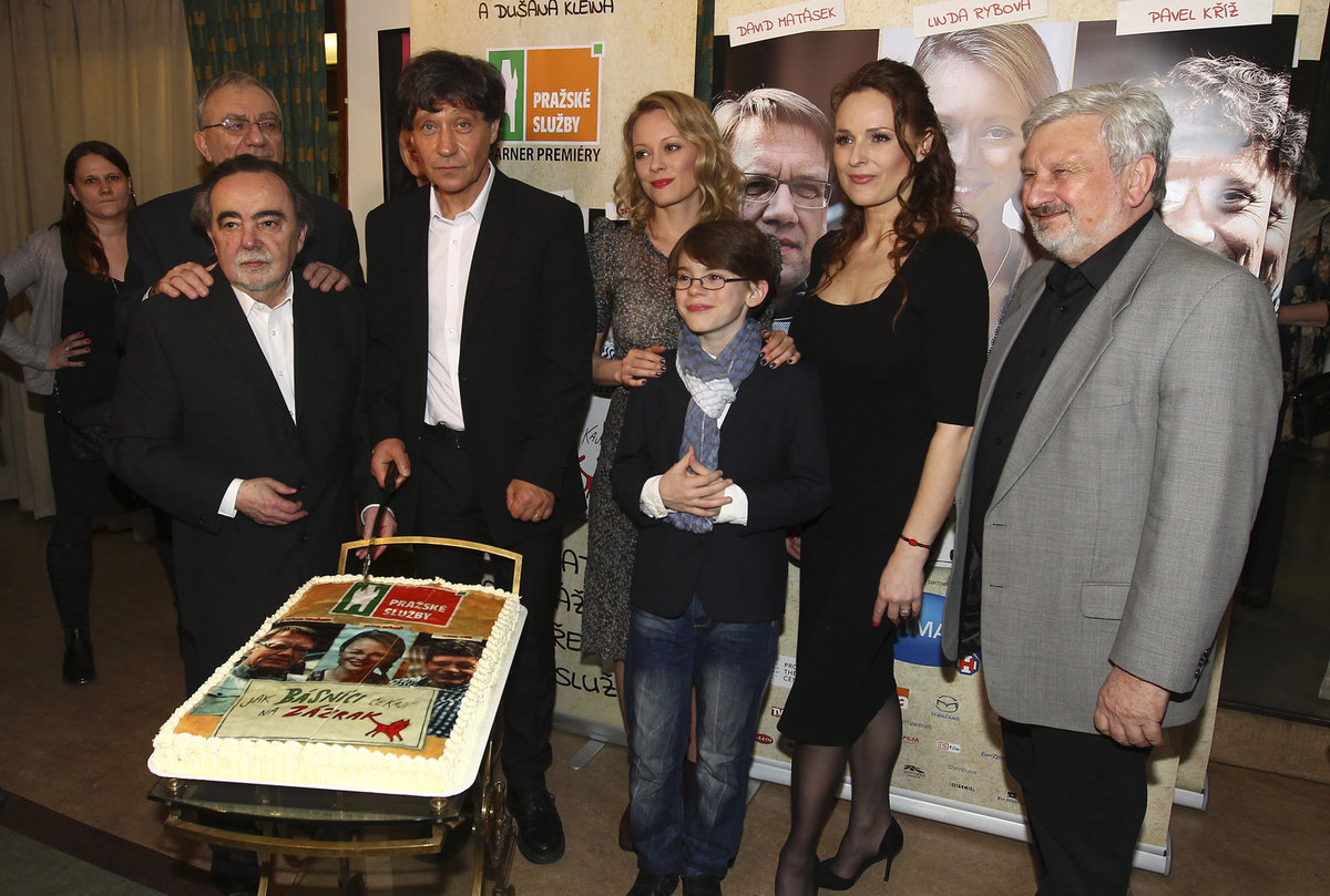 Dušan Klein, Linda Rybová, Markéta Hrubešová a Pavel Kříž.
