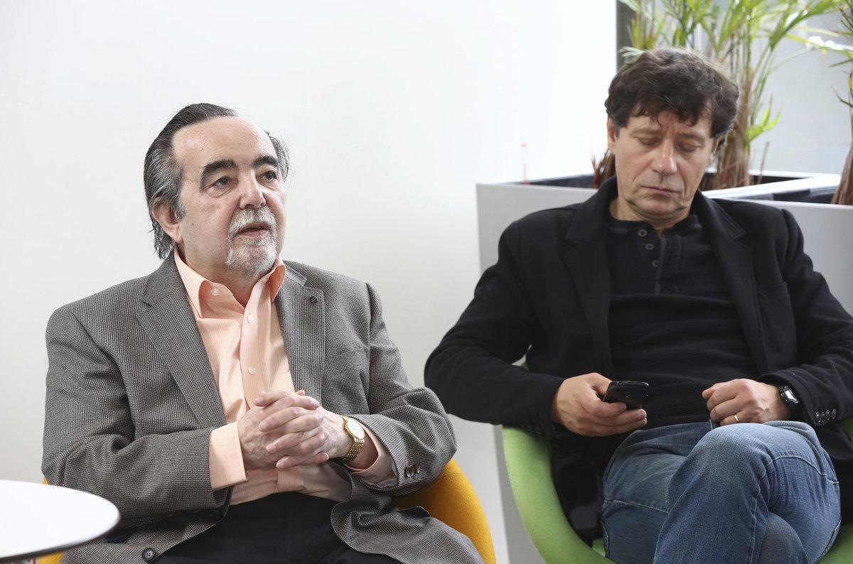 Dušan Klein a Pavel Kříž.