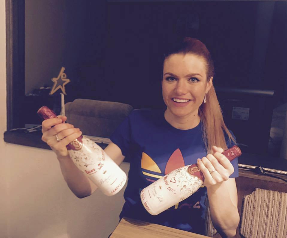 Gabriela Koukalová se na Facebooku pochlubila dárkem od manžela k Valentýnu