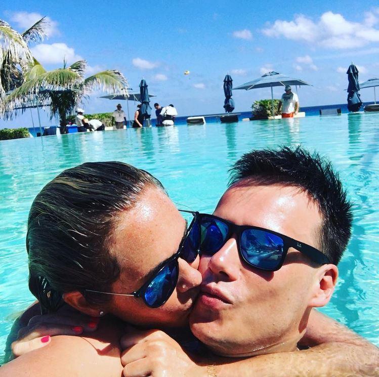 Zamilované duo Klára Koukalová Petr Suchoň oslavili svátek zamilovaných v Mexiku.