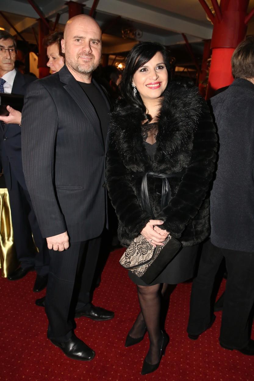Andrea Kalivodová s manželem.