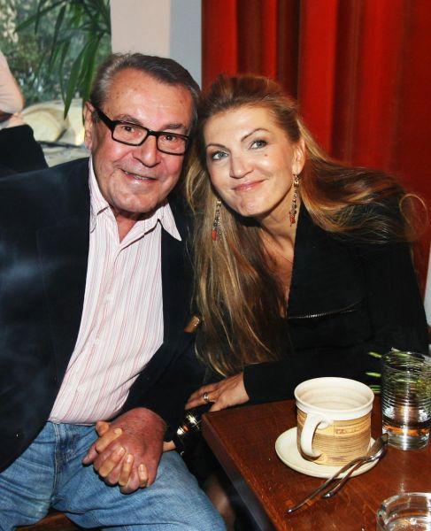 Martina Formanová s manželem Milošem Formanem.