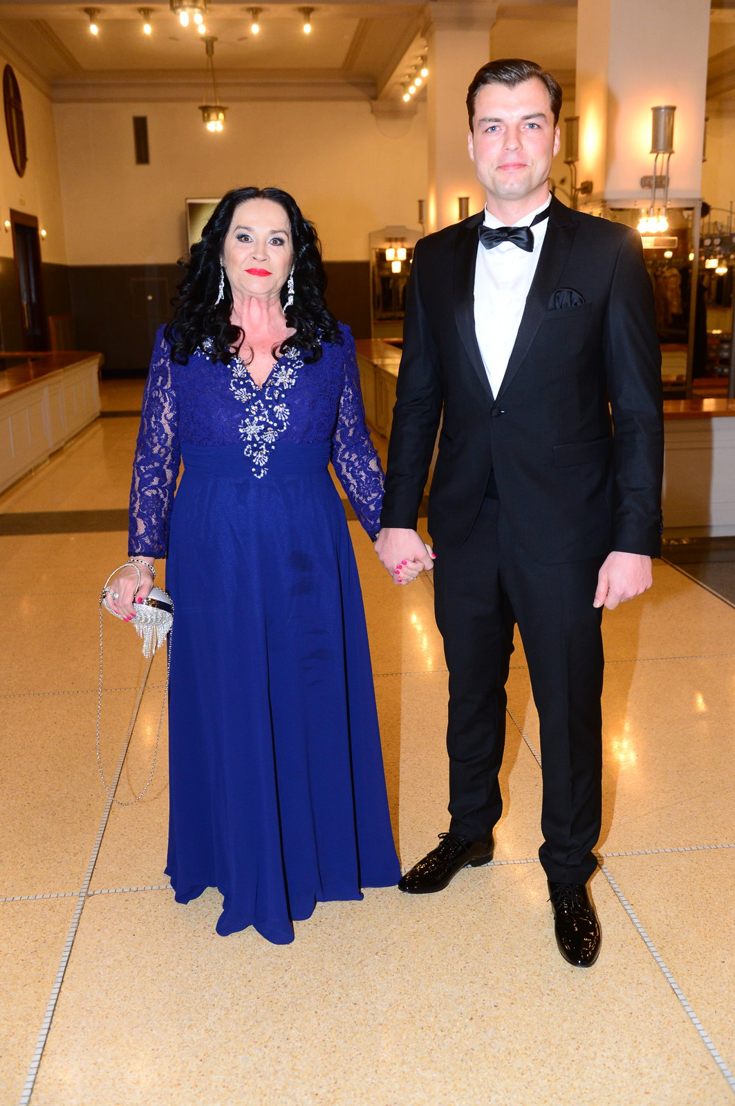 Gregorová s Koptíkem na Česko-Slovenském plese