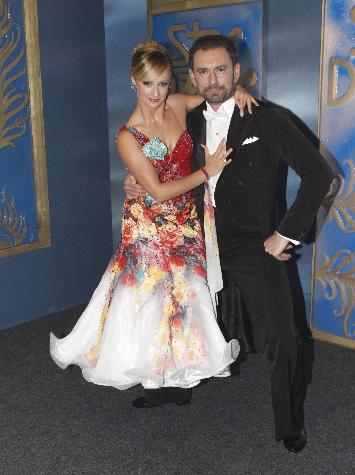 Lucie Hunčárová a Emanuele Ridi ve Stardance.