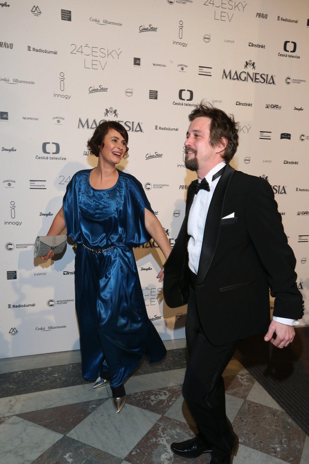 Jan Dolanský s manželkou Lenkou Vlasákovou