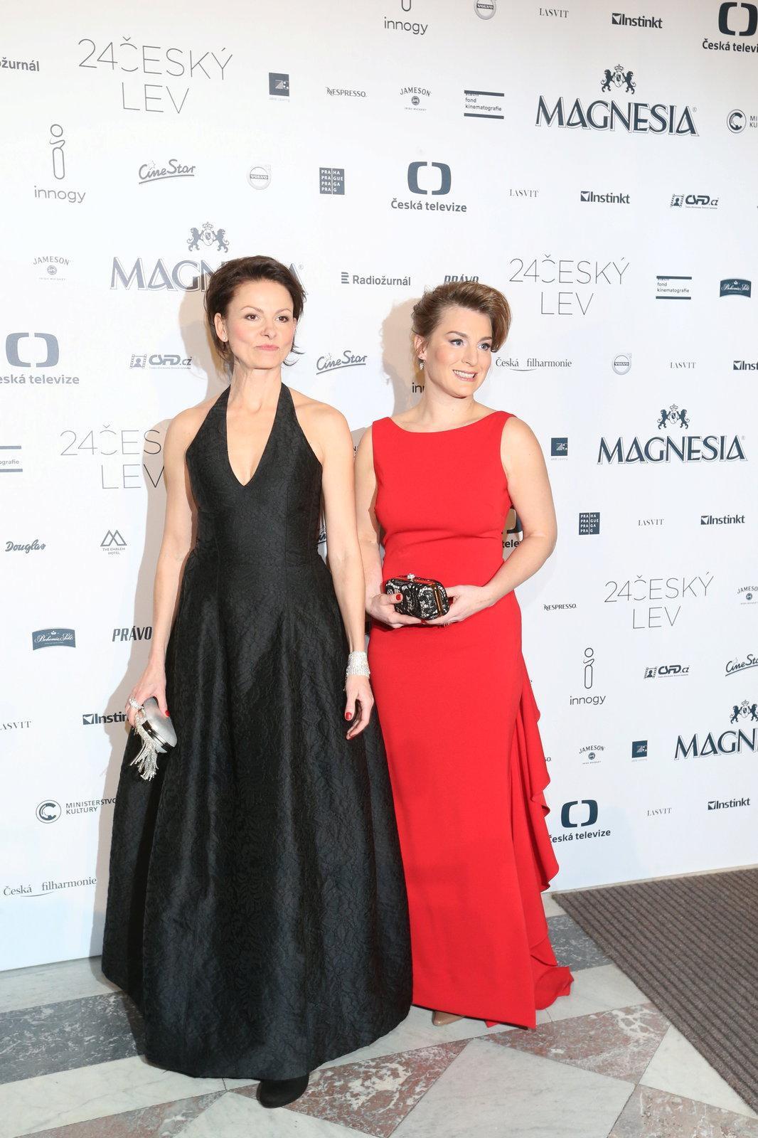 Klára Melíšková a Lenka Krobotová