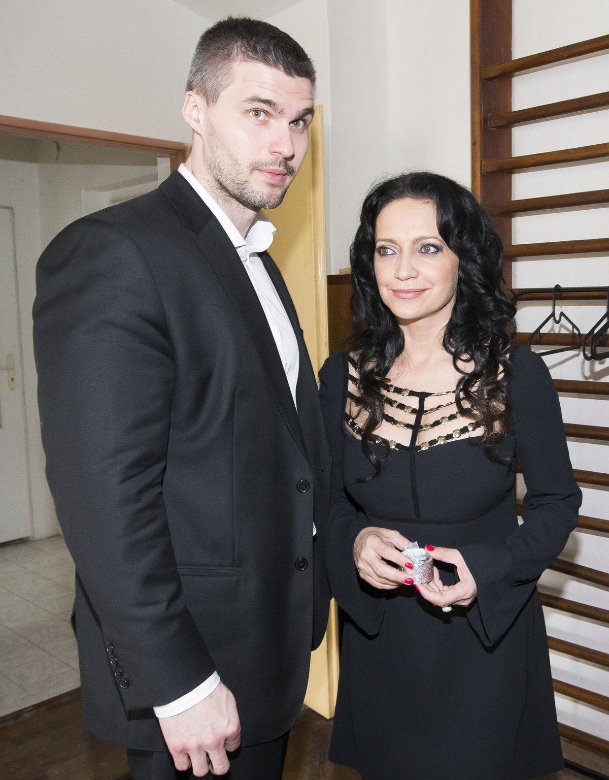 Lucie Bílá a její přítel Radek Filipi