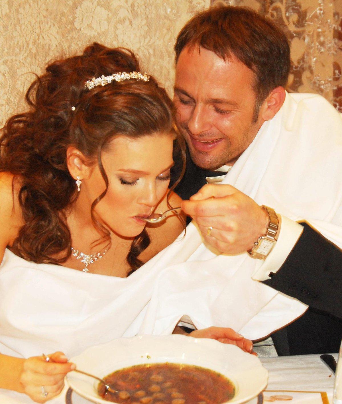 Svatba Andrey Verešové s Danielem Volopichem.