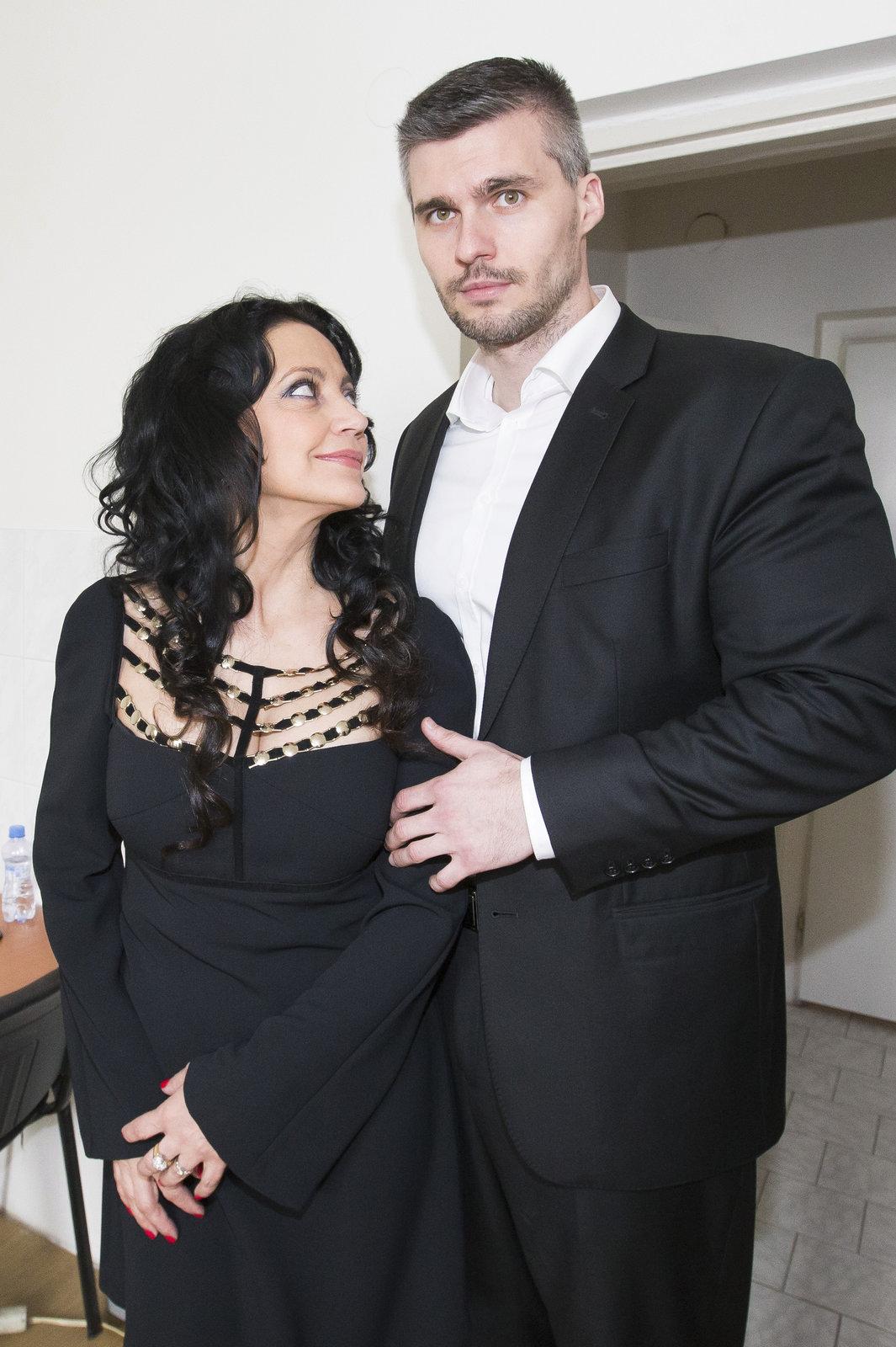 Lucie Bílá a Radek Filipi