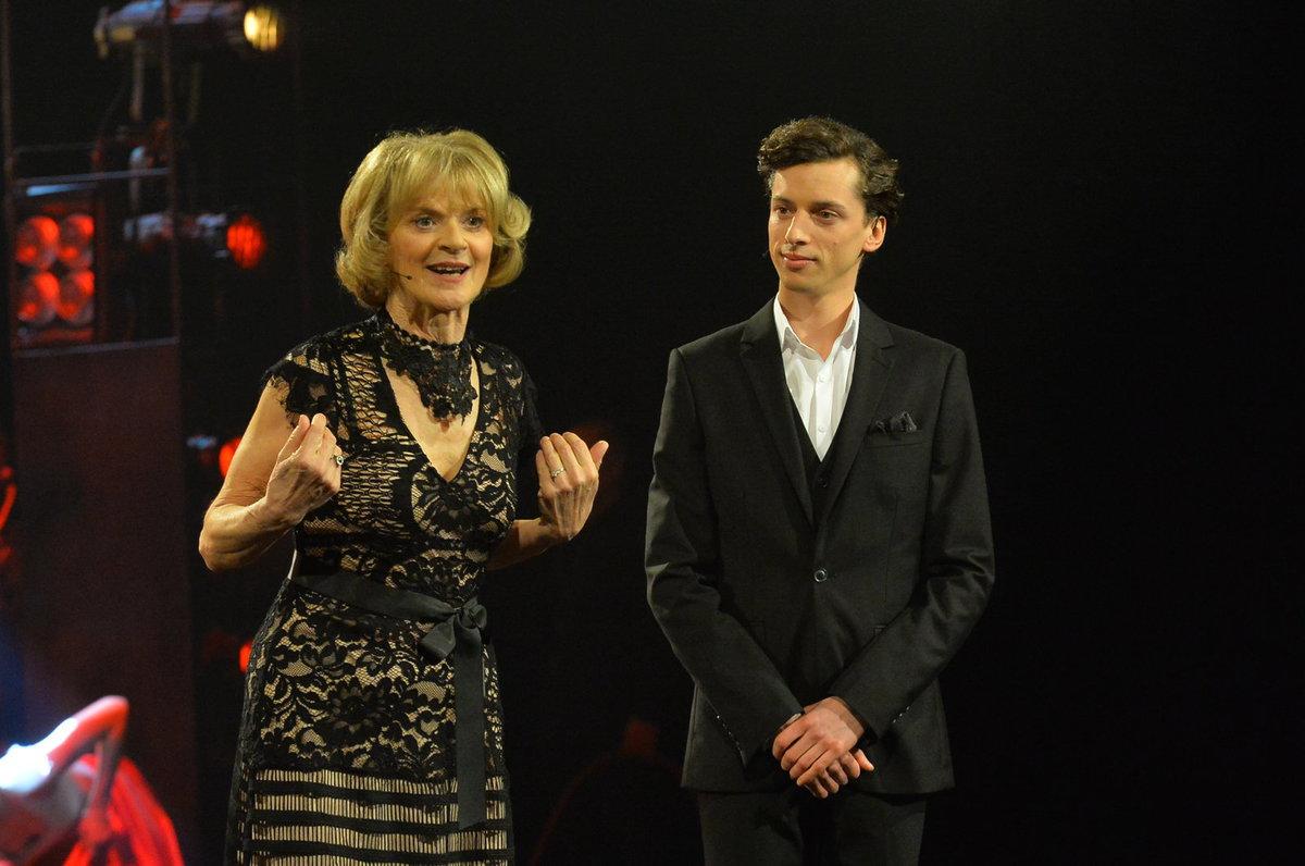 Moderátorská dvojice Thálií Taťjana Medvecká a Jan Cina