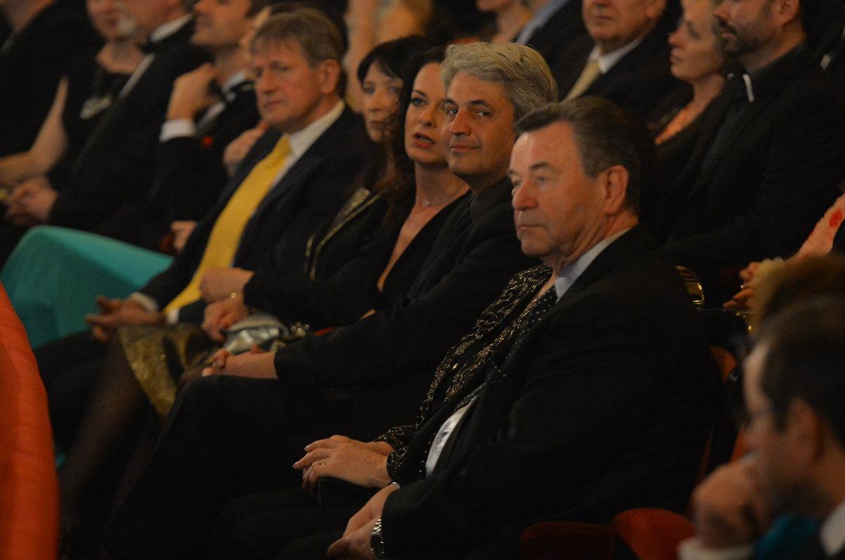 Václav Postránecký a Zdeněk Hruška v publiku