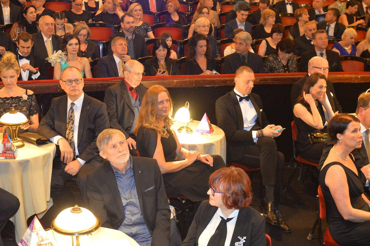Ceny Thálie: V publiku Jiří Suchý
