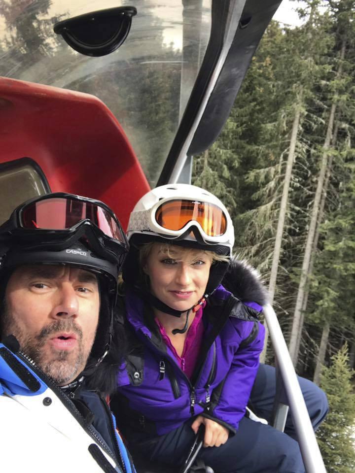 Emanuel Ridi a Lucie Hunčárová na dovolené