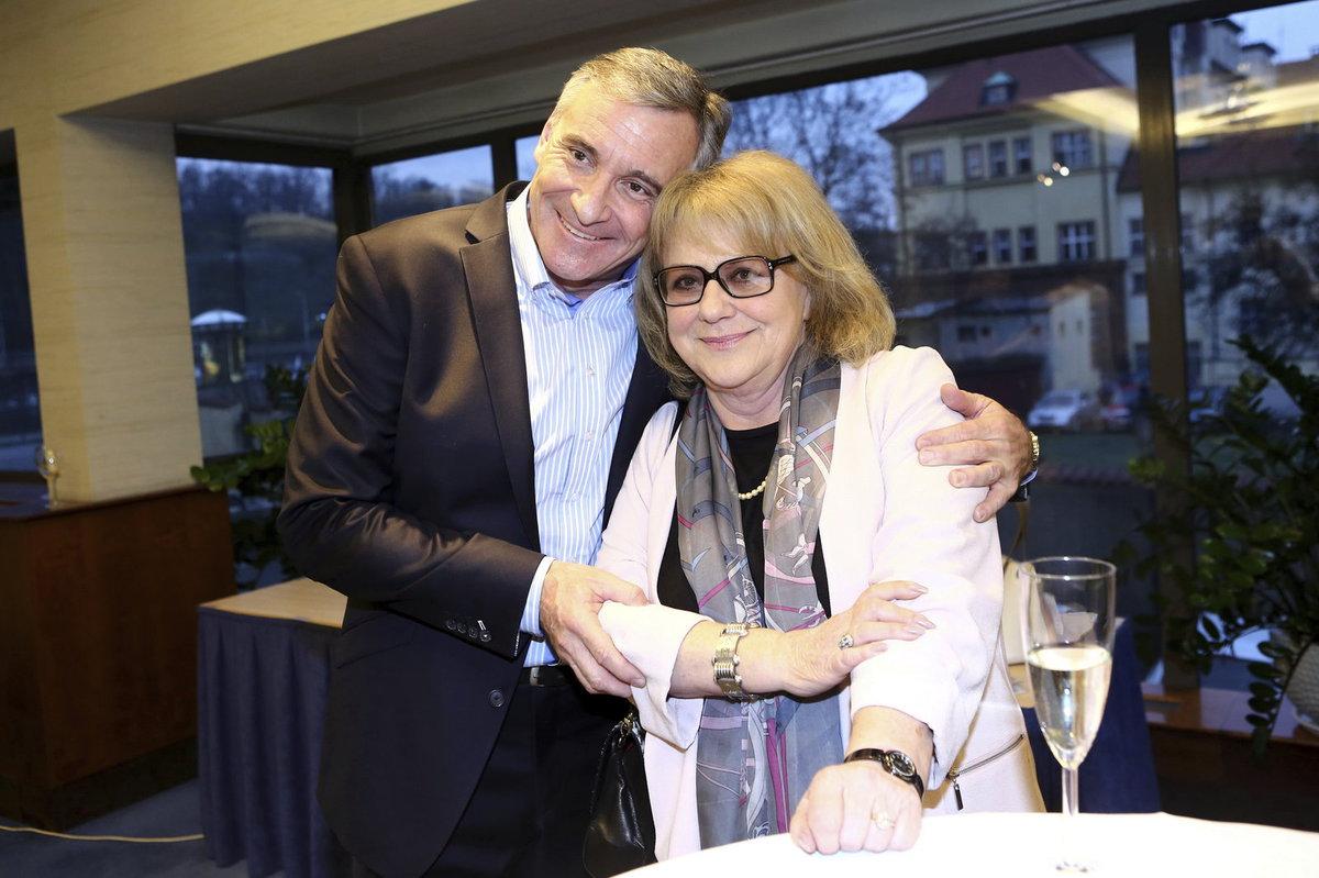 Iva Hüttnerová s Janem Čenským