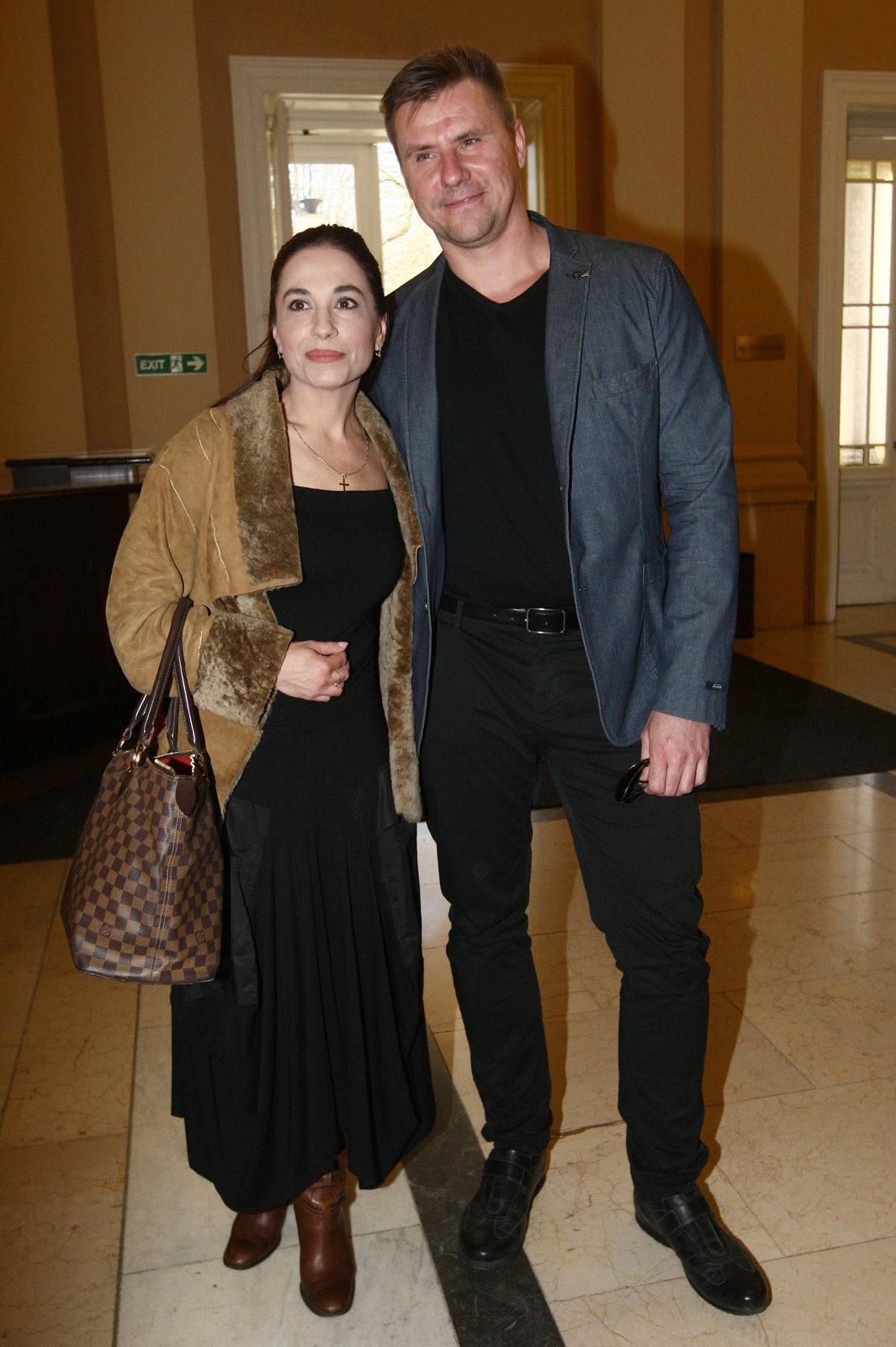 Michaela Kuklová vyvedla do společnosti svého partnera.