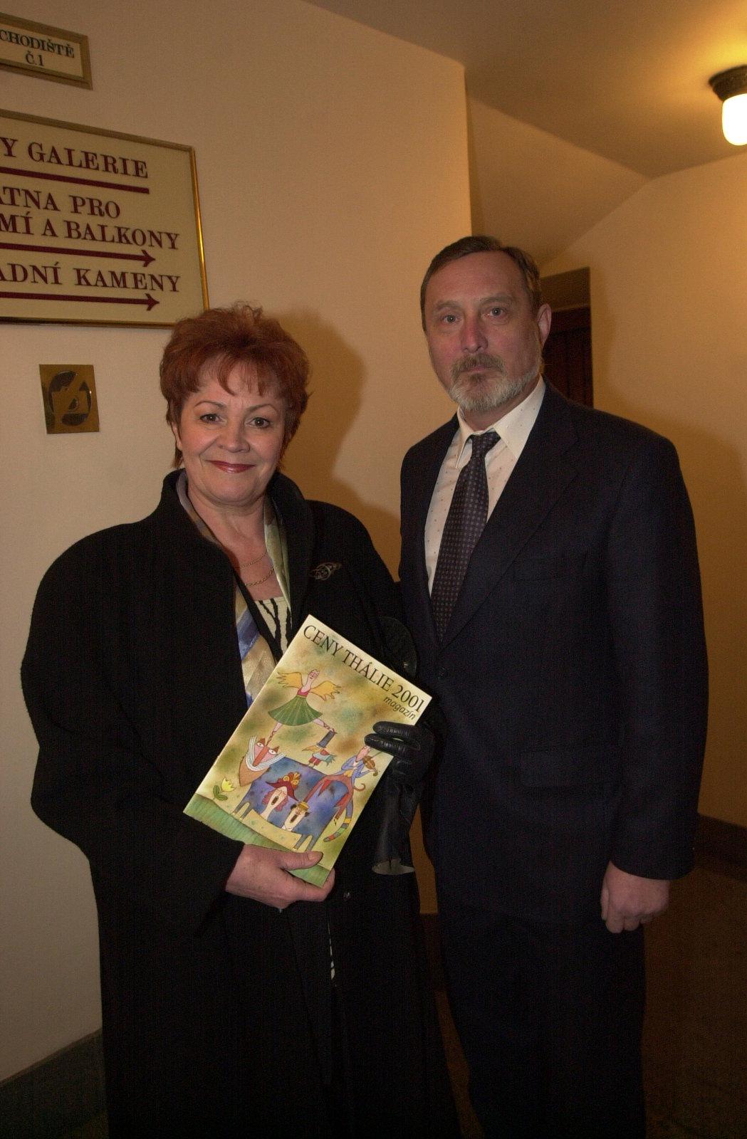 Věra Galatíková a Ladislav Frej