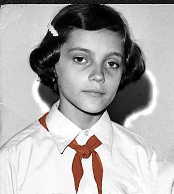 Lucie Bílá jako malá holka