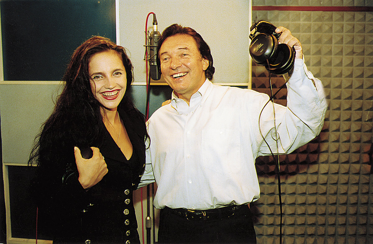 Lucie Bílá s Karlem Gottem