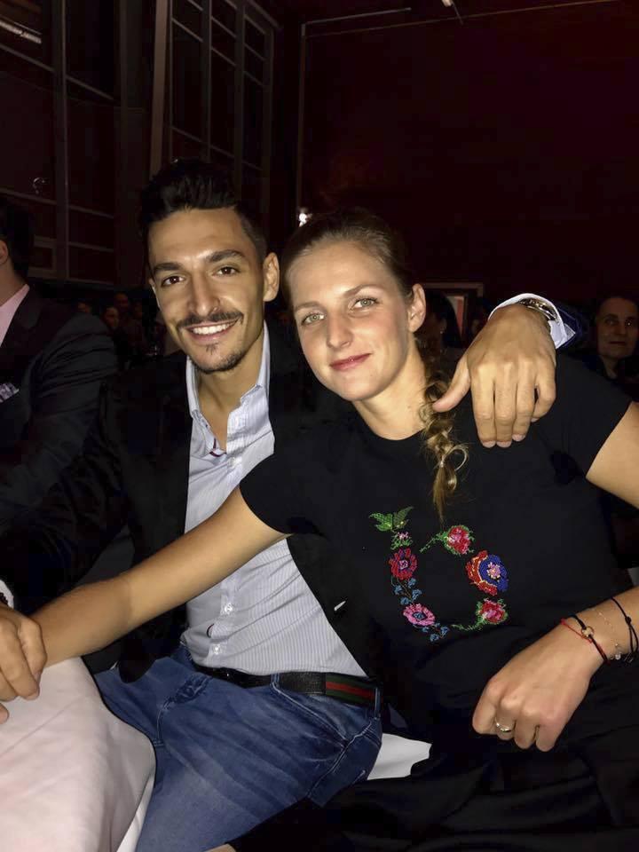 Michal Hrdlička a Karolína Plíšková
