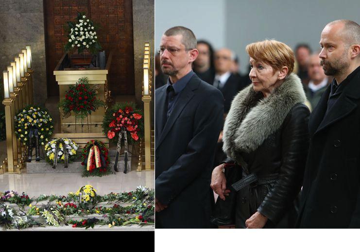 Vdova Daniela Kolářová se syny Matějem a Šimonem Ornestovými