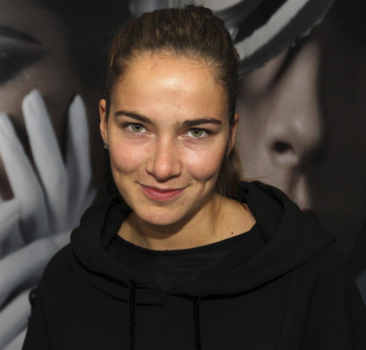 Andrea Bezděková bez makeupu.