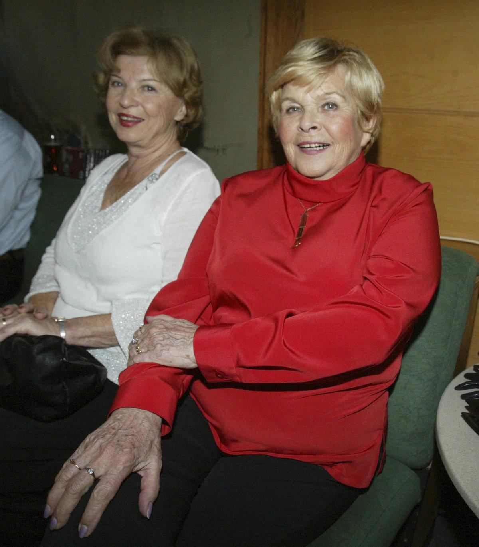 Ivanka Devátá (vpravo) a Libuše Švormová