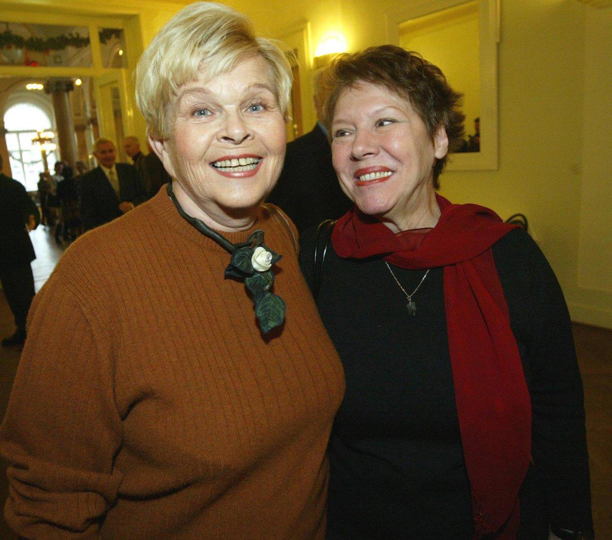 Ivanka Devátá a Růžena Merunková