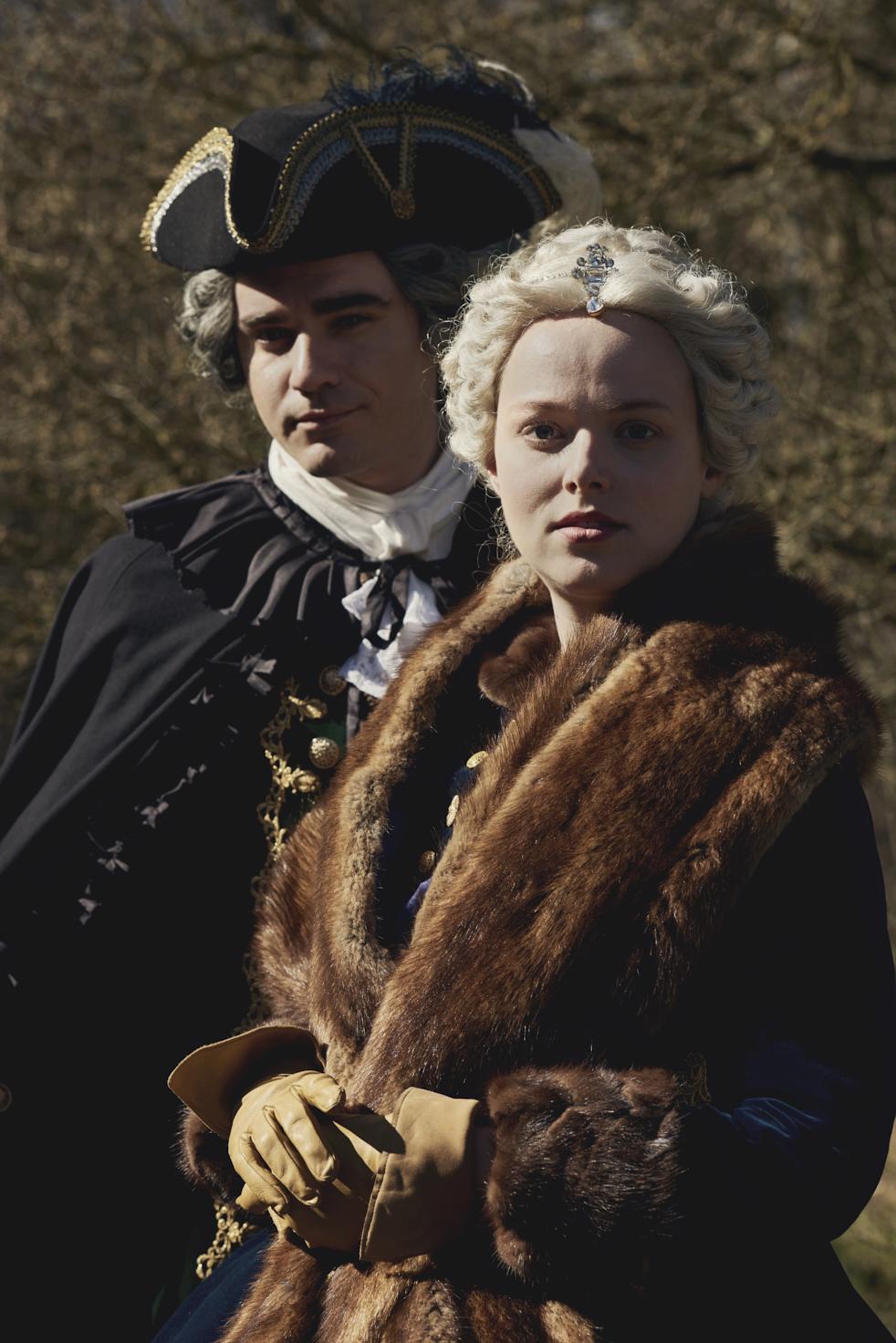 Marii Terezii hraje rakouská herečka Luise Stockinger.