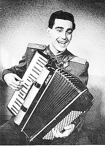 1955- V Armádním uměleckém souboru.