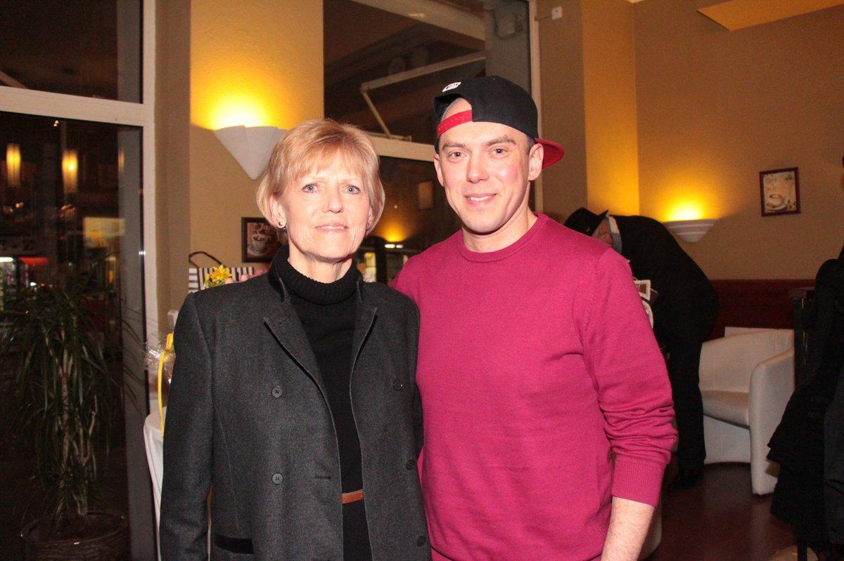 Reportér Láďa Hruška s maminkou