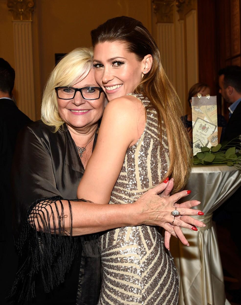 Zpěvačka Tereza Kerndlová s maminkou