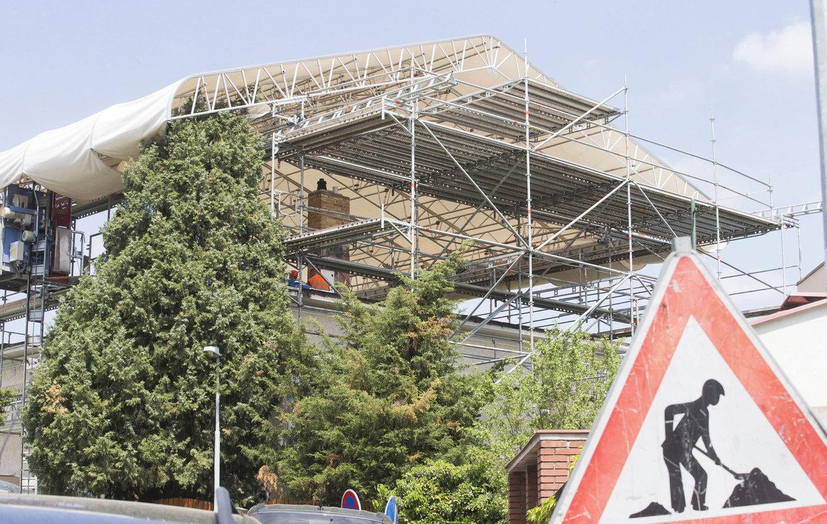 Vila na Bertramce je bez střechy