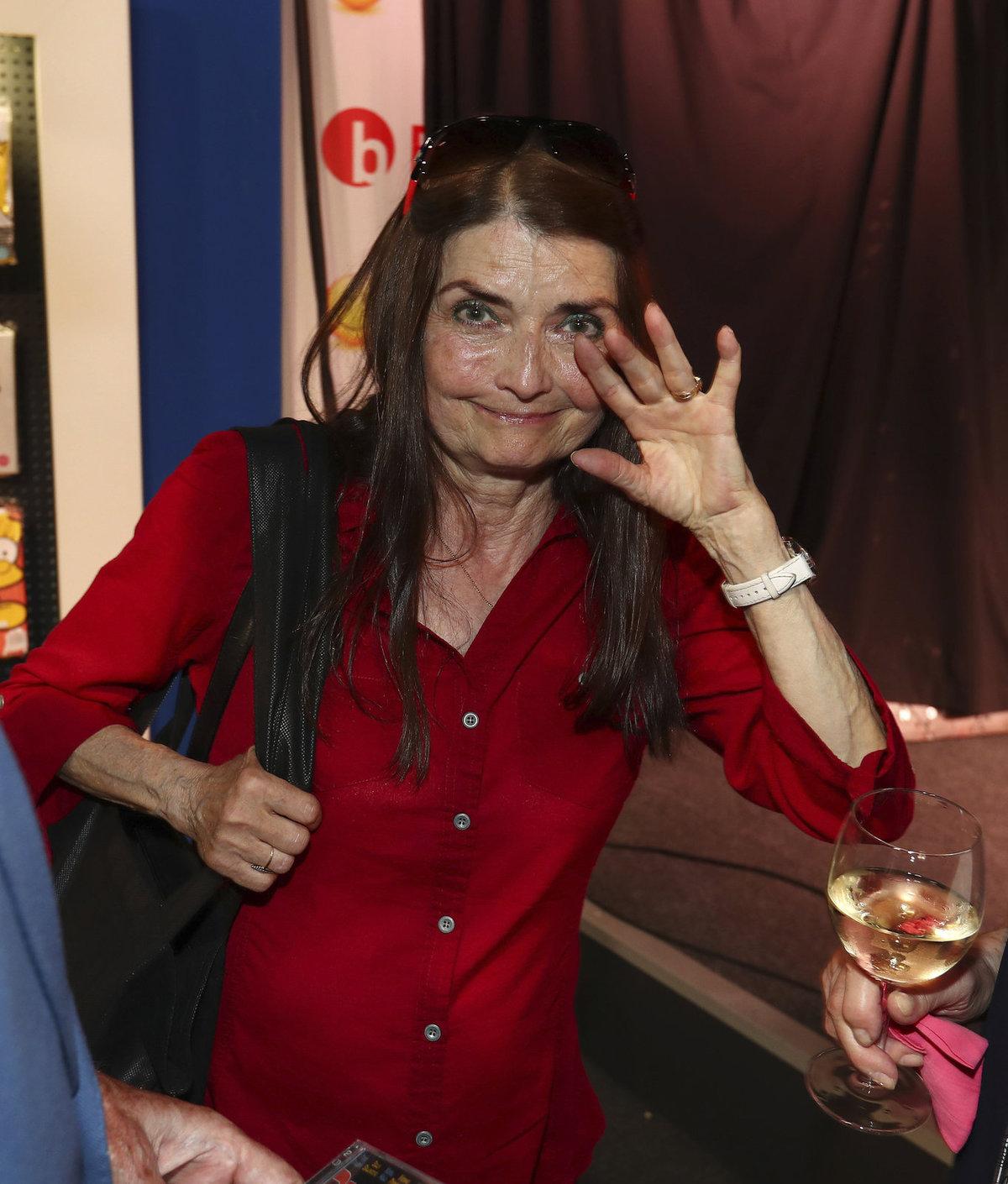 Na akci nechyběla ani Miluška Voborníková.