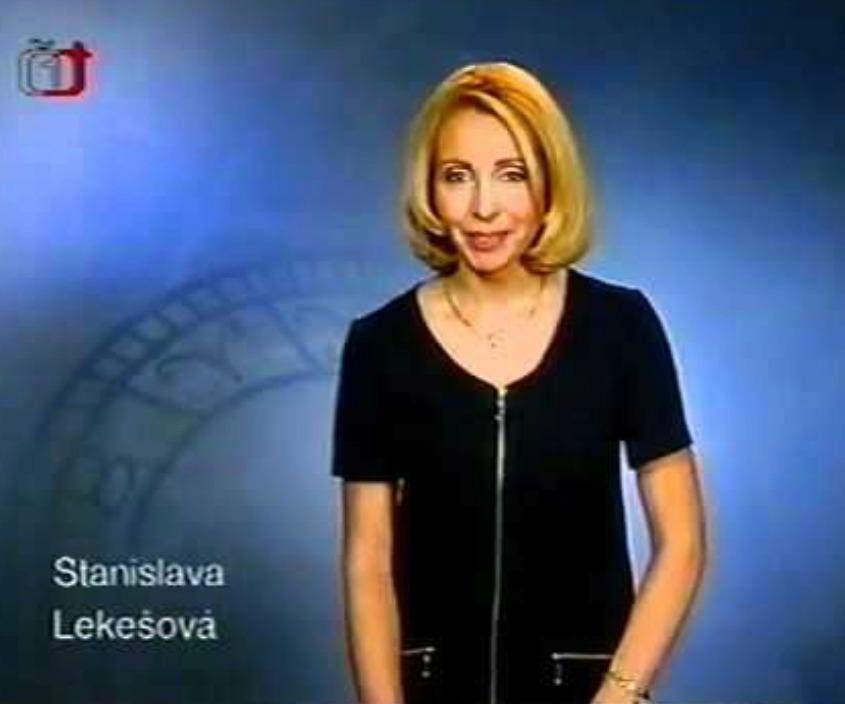 Bývalá hlasatelka Stanislava Lekešová