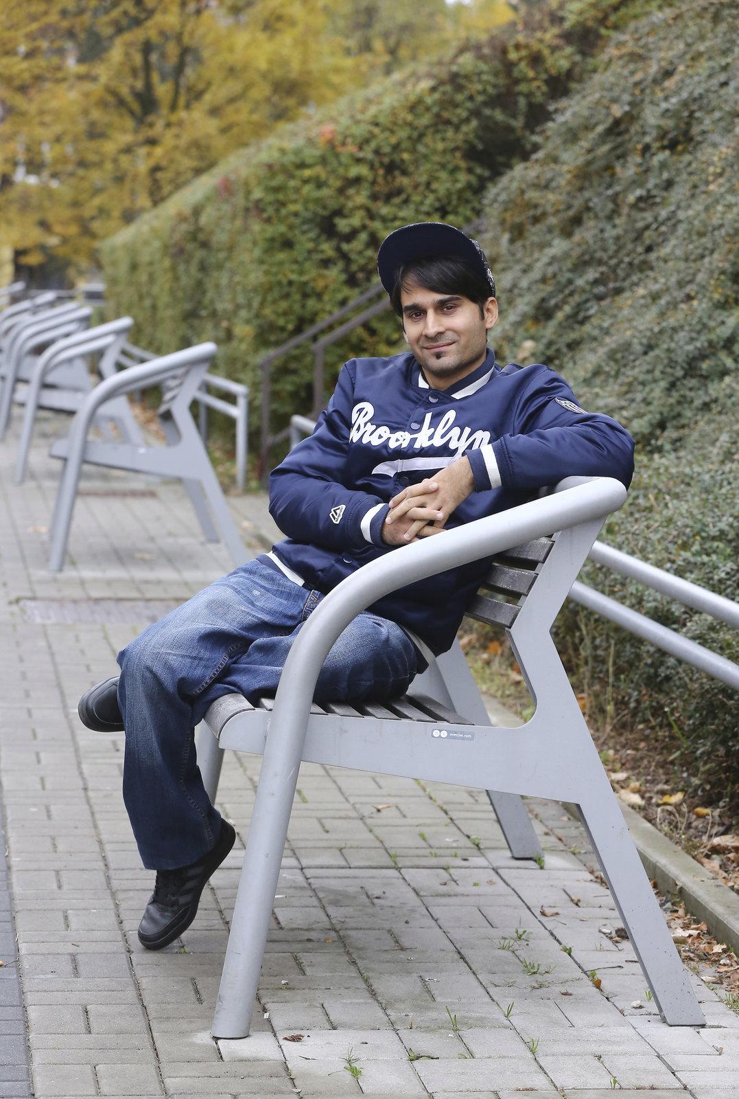 Radek Banga alias Gipsy při rozhovoru pro Blesk