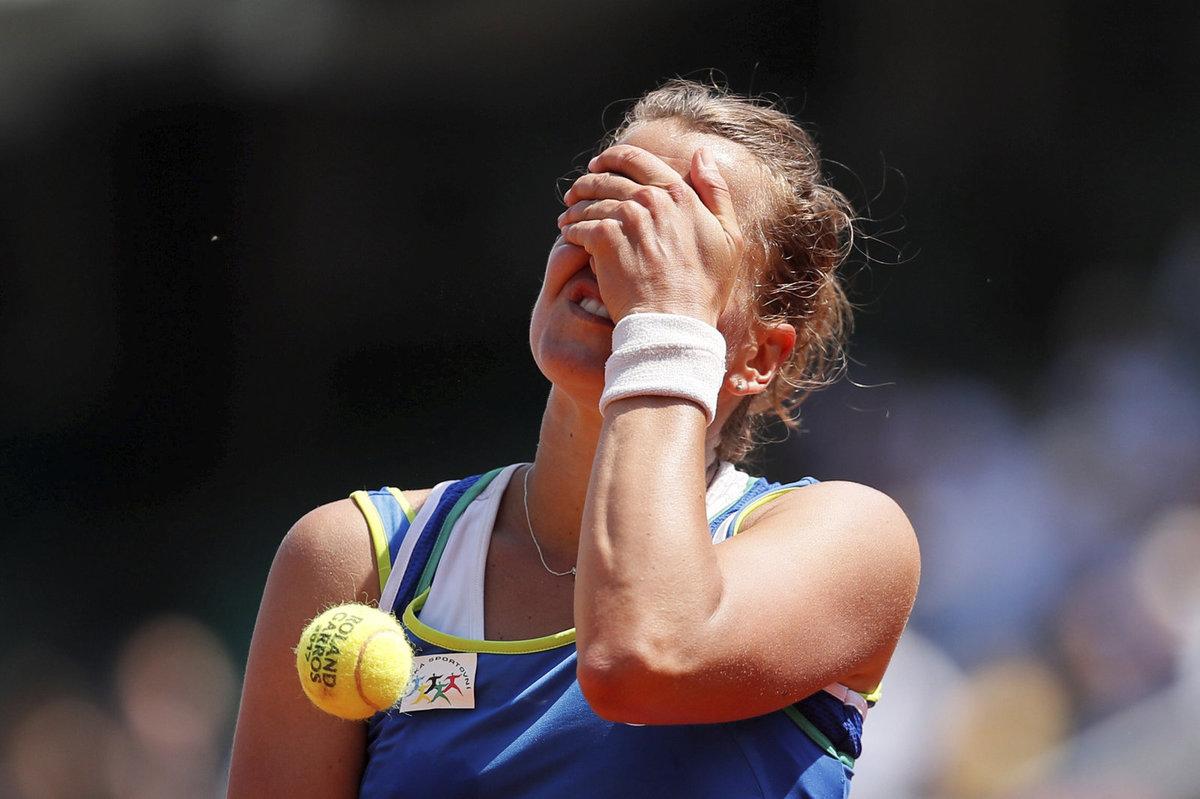 Barbora Strýcová nestačila ve druhém kole French Open na Cornetovou