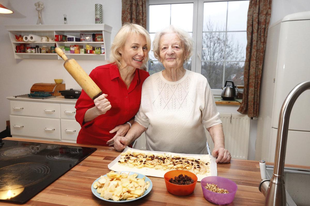 Veronika Žilková a maminkou Olgou