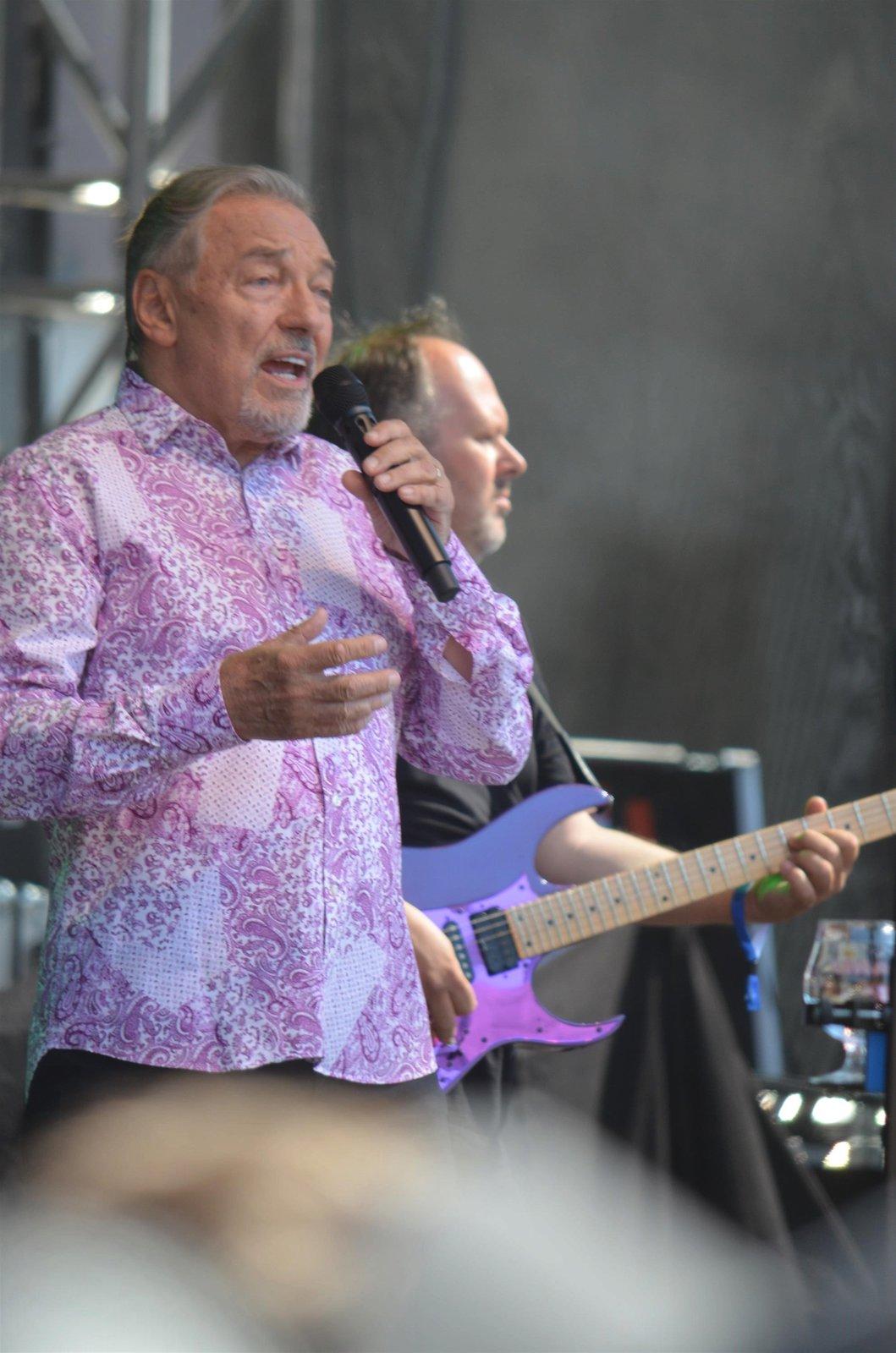 Karel Gott koncertoval v Humpolci