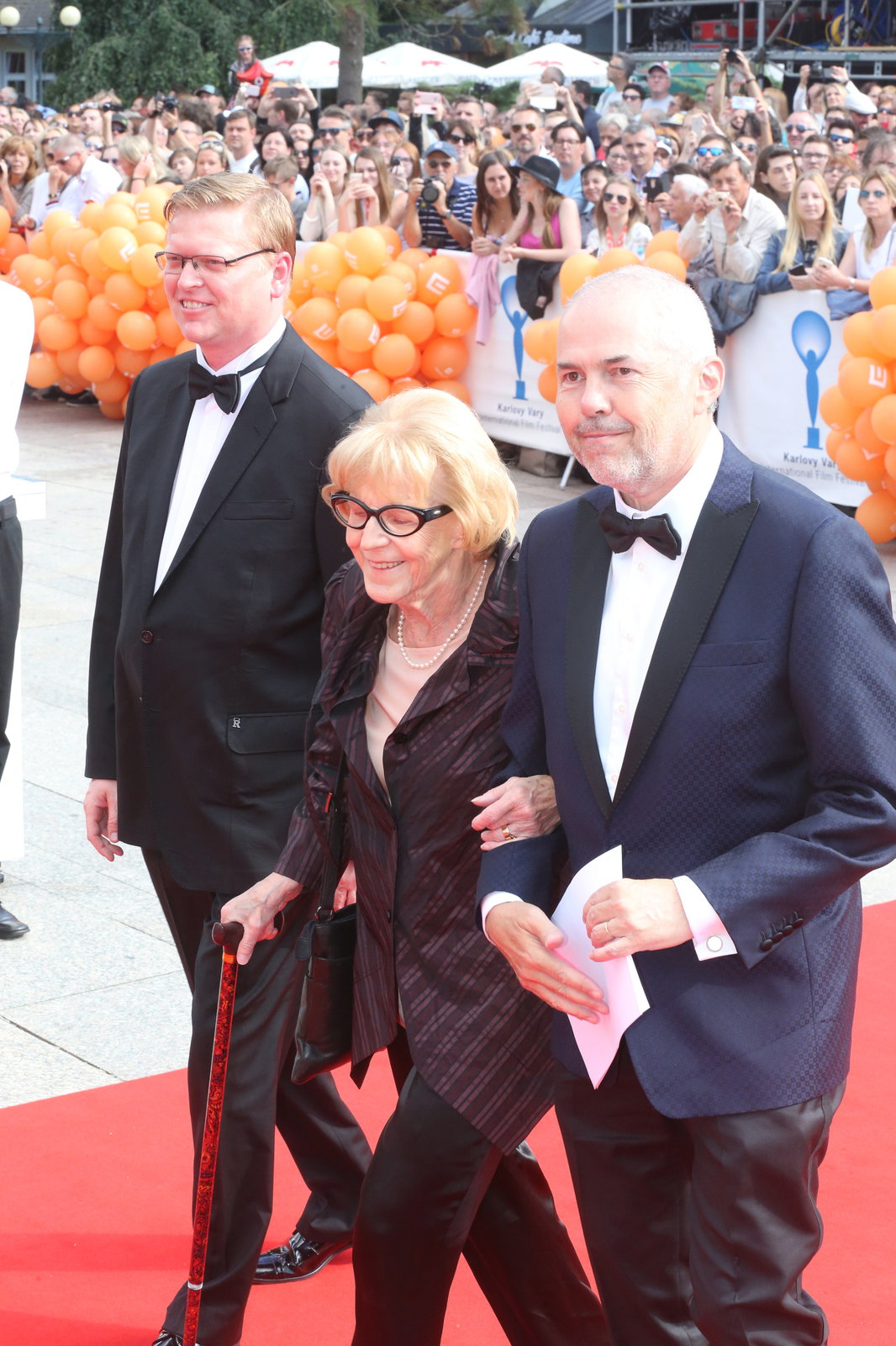 Marek Eben a Eva Zaoralová