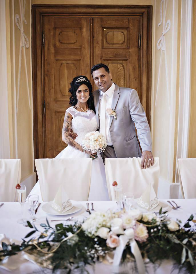 Vladimír Růžička a jeho Maruška měli pohádkovou svatbu.
