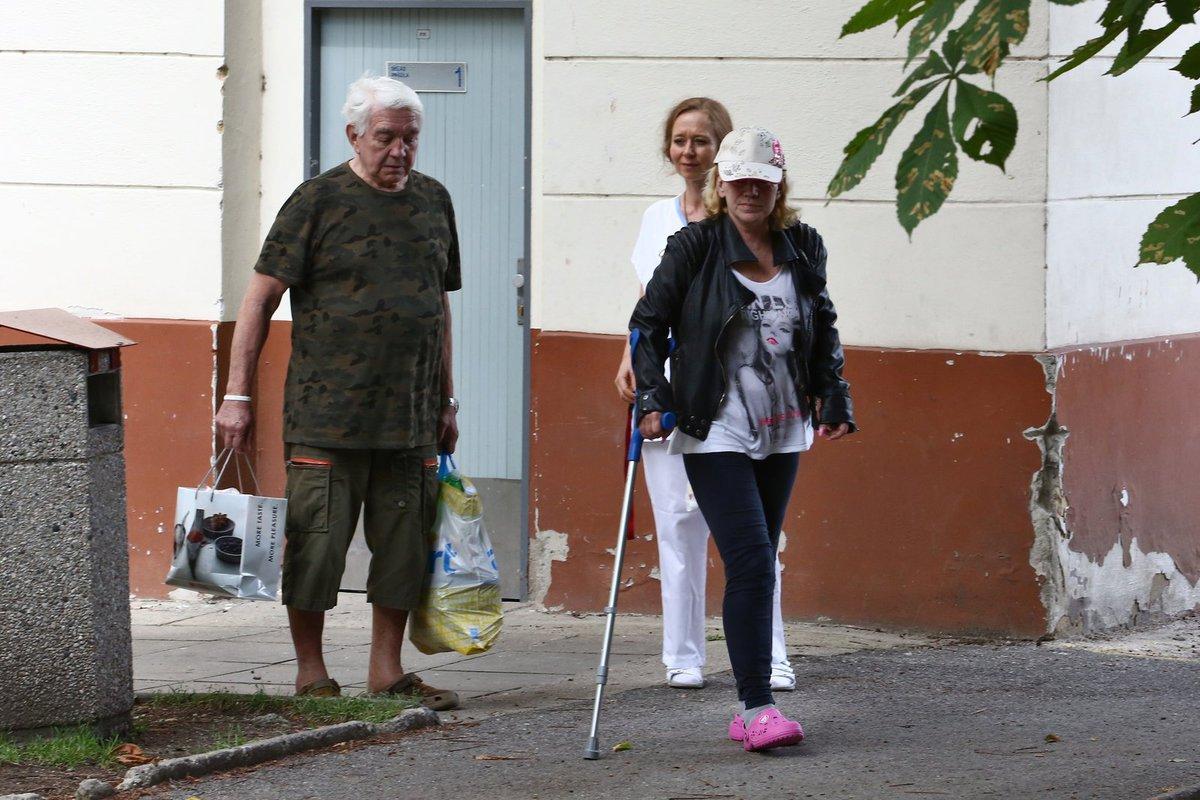 Hana Krampolová už je propuštěna z léčebny.