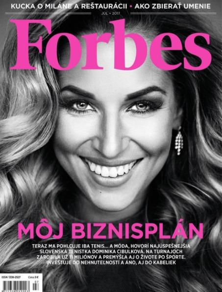Podnikatelka Dominika Cibulková pro Forbes promluvila i o útěku ze Slovenska