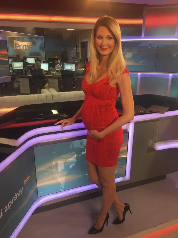Těhotná moderátorka Sandra Parmová