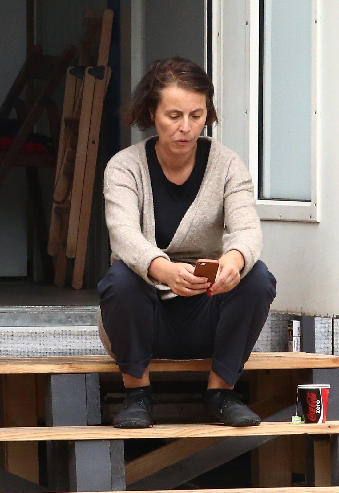 Lenka Vlasáková bez make-upu.